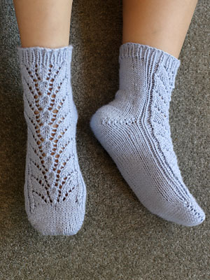 Mirabella socks, done!